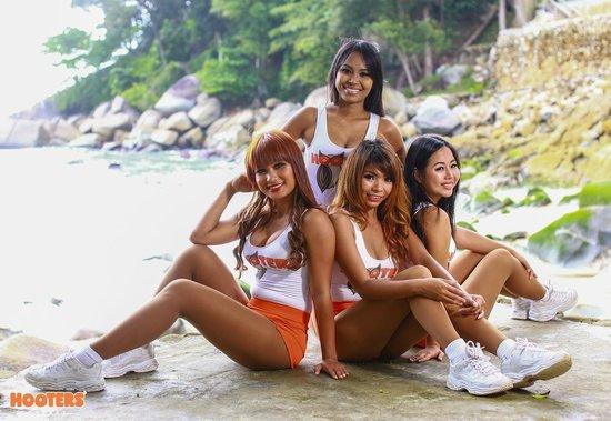Beach girls patong Patong Beach