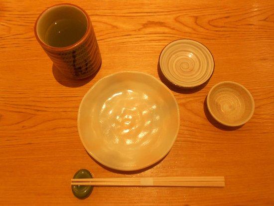 Ganko Sanjo Honten: Set Sushi