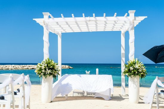 Grand Palladium Jamaica Resort Spa Beach Wedding Site