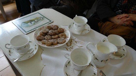 Cashel House Hotel : Pause café