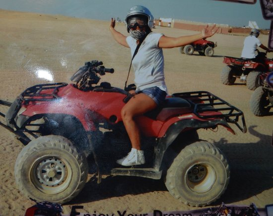 Eastern (Arabian) Desert: first time to drive Quad in dessert