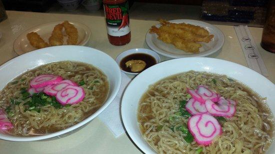 Hamura Saimin Stand: Shrimp saimin.