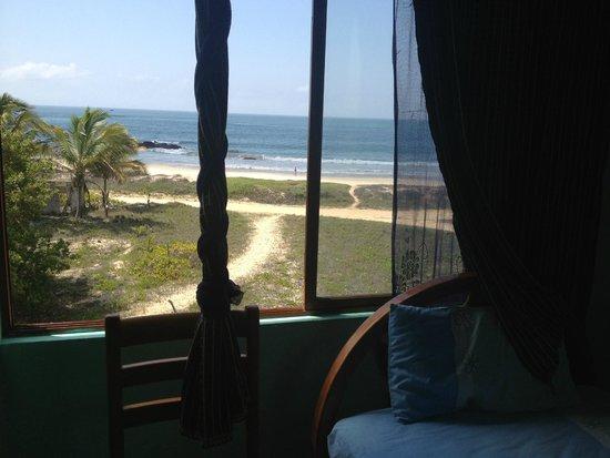 Hostal La Jungla: nice to wake up to this!!