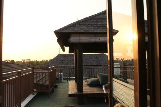 Entrance To Roof Top At Level 3 Picture Of Papillon Umalas Villas Kerobokan Tripadvisor