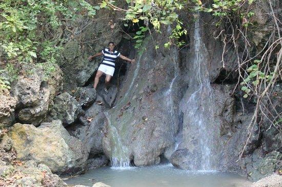 Bath Beach Mini Waterfall