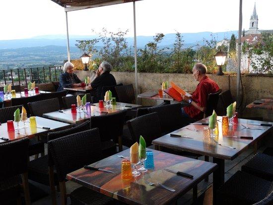 La Flambee : Terrasse