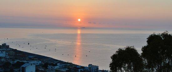 Hotel Antares: Sunset