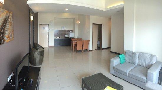 Bayou Lagoon Park Resort : View of room main hall