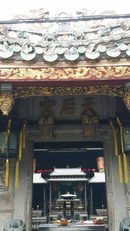 Mazu Palace: A temple where the local will pray before a journey.