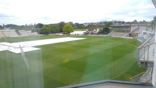 Premier Inn Worcester City Centre Hotel View Of Cricket Ground From Room