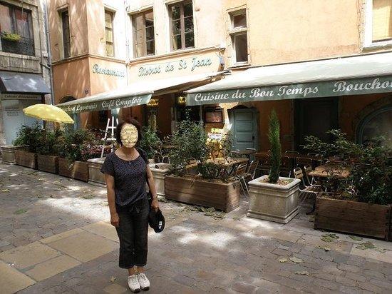 Bistrot de Saint Jean : ランチが終わって、客もいなくなりました