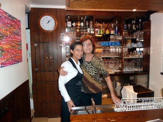 Tavernetta all'Androna : Nonna Franca und im Service Federica