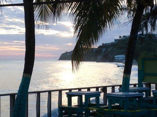 Timothy Beach Resort: View from restaurant