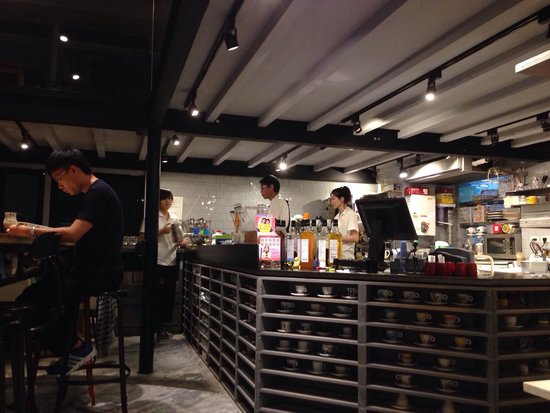 C25: The coffee counter. Very friendly staffs