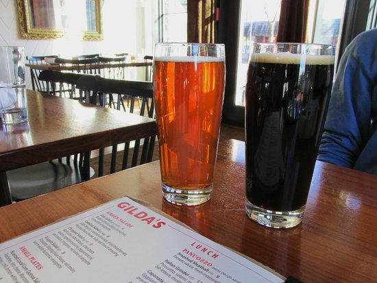Gilda's : Saranac Octoberfest & Keegan Ales Mother's Milk Stout