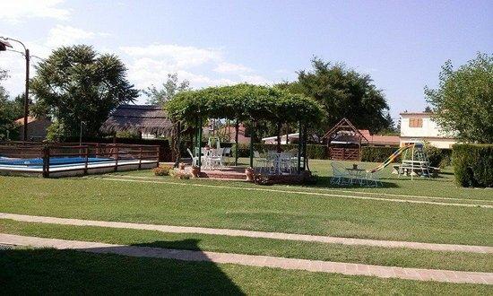 Villa Cura Brochero, Αργεντινή: Parque y Piscina Protejida