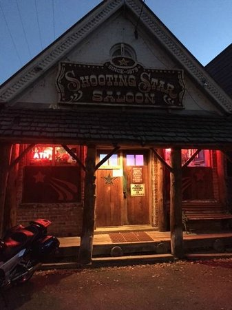 Hitch up your horse and come on in to the Shooting Star Saloon.