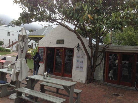 Cafe Roux: taken outside restaurant
