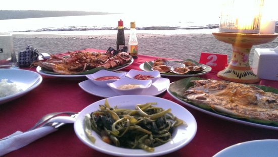 Bayang Cafe: Platter for two