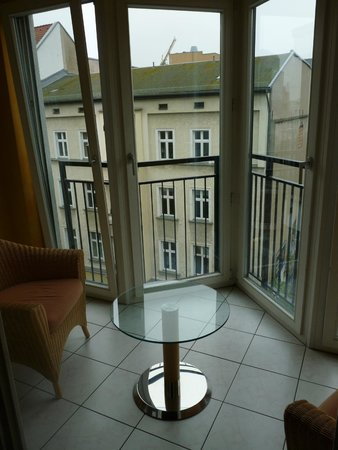 HSH Hotel Apartments Mitte: balcony