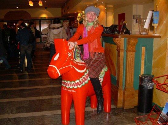 Mora Hotell & Spa: в лобби