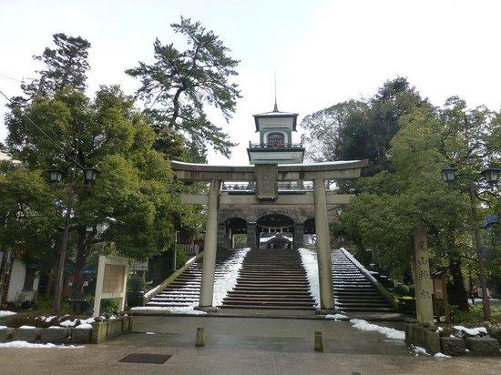 Oyama Shrine : 神門