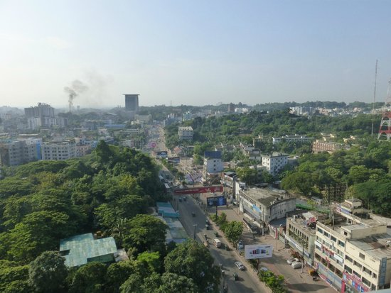 The Peninsula Chittagong: View from 11th floor