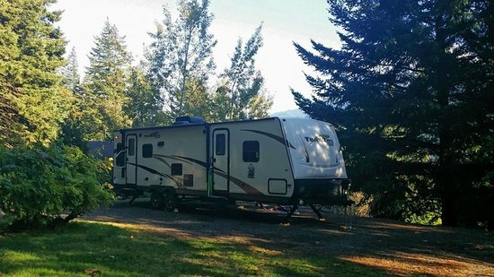 Skamania Coves Resort: Travel Trailer