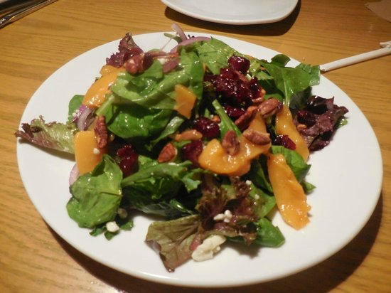 california pizza kitchen caramelized peach salad - California Pizza Kitchen Houston