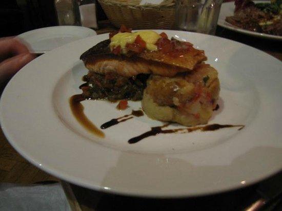 Little Bay Brighton: A salmon dish they do