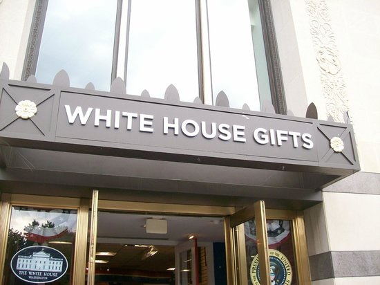 House Gifts the many gifts at the white house gift shop - picture of white