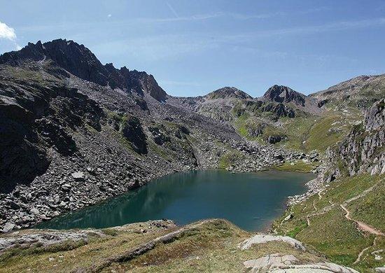 Tschamut, Ελβετία: lago Toma