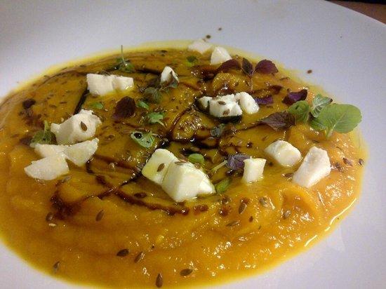 osteria tabarin: Zuppa di Zucca