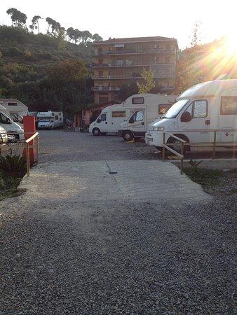 Area Camper Il Pozzo: Area reception