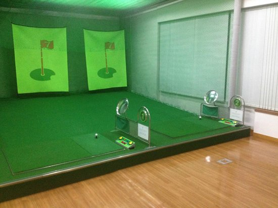 Best Western Premier Incheon Airport: golf target room