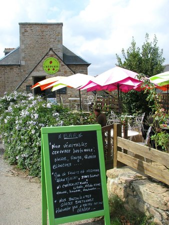Le jardin des coquettes: la terrasse