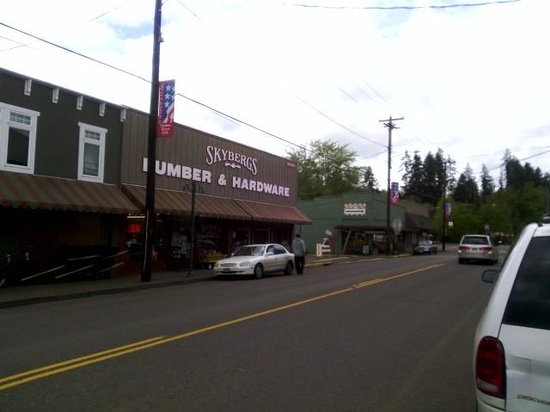 Willamina, OR: Main St.