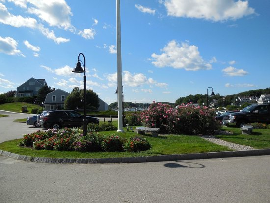 York Harbor, ME: View from Room 330
