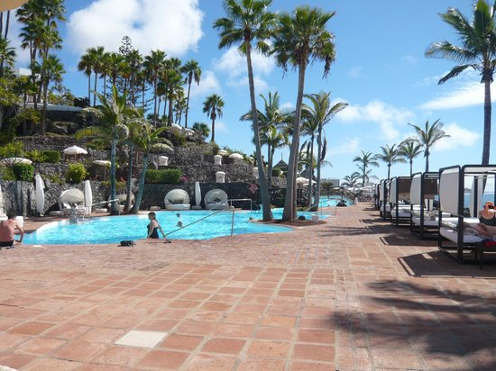 Beach club pool picture of hotel jardin tropical costa for Jardin tropical tenerife tripadvisor