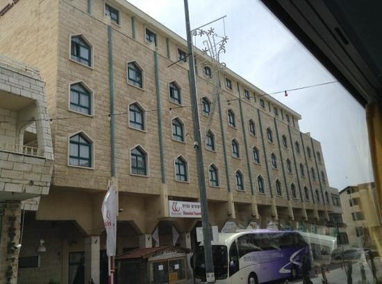 Rimonim Hotel Nazareth: fachada do hotel