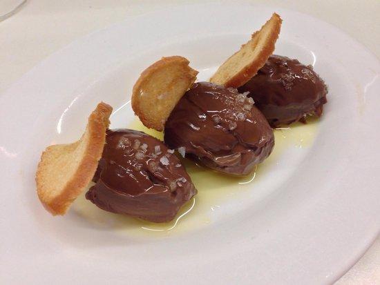 Olive oil chocolate ganache and sea salt picture of tapas 24 tapas 24 olive oil chocolate ganache and sea salt sciox Gallery