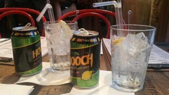 Revolution: Hooch cocktail