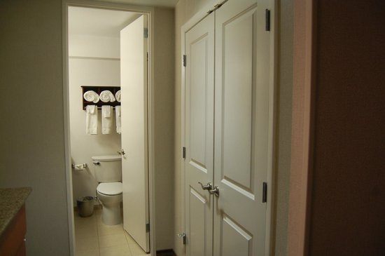 Hampton Inn & Suites Chicago - Downtown: Toilette de la habitacion