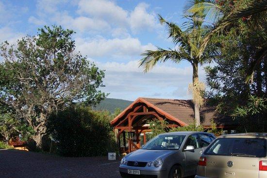 Fish Eagle Lodge : Aussenanlage