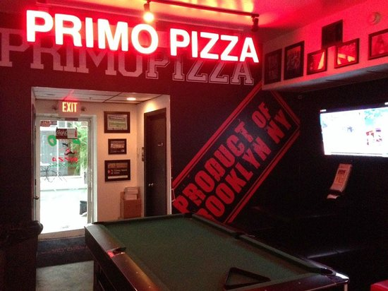 Primo Pizza : Interior