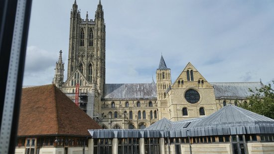Canterbury Cathedral Lodge: View from the room!!!