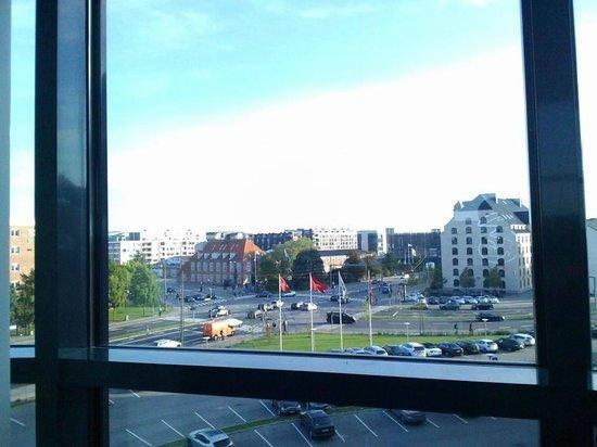 Scandic Sydhavnen: Vista dalla stanza dove ho soggiornato