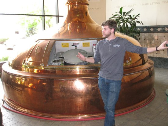 Sierra Nevada Brewing Company: Outstanding tour guide, Chris