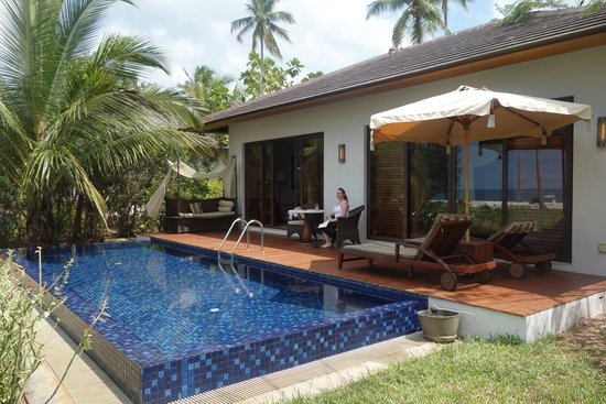 The Residence Zanzibar: Private Pool outside Villa