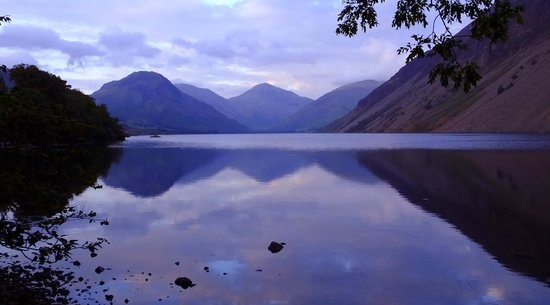Wasdale Head, UK: The iconic view